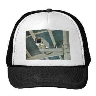Security camera mesh hats