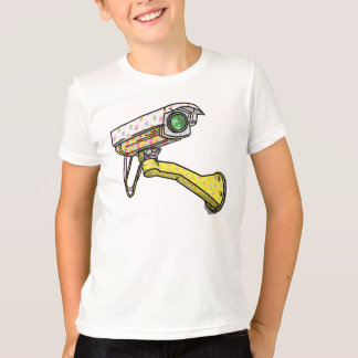 Security Camera Multi Coloured T-Shirt