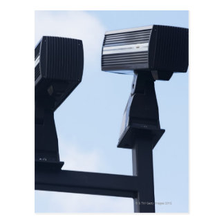 Security cameras postcard