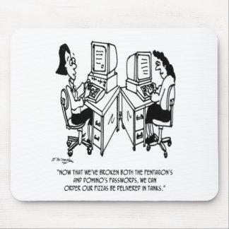 Security Cartoon 4348 Mouse Pad