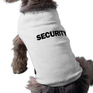 SECURITY - Dog Sweater Sleeveless Dog Shirt