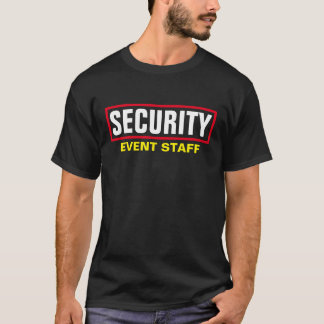 Security - Event Staff T-Shirt