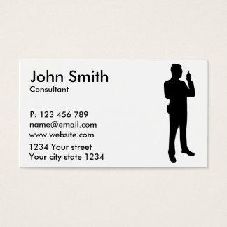 Security guard business card