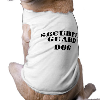 Security, Guard Dog Sleeveless Dog Shirt