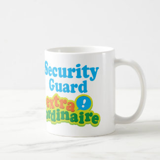 Security Guard Extraordinaire Gift Idea Coffee Mug