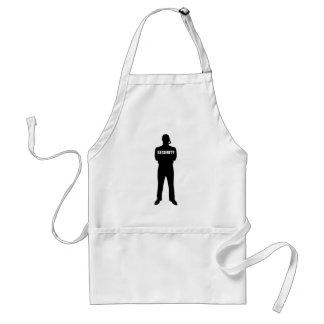 Security guard standard apron