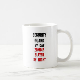 Security Guard Zombie Slayer Coffee Mug