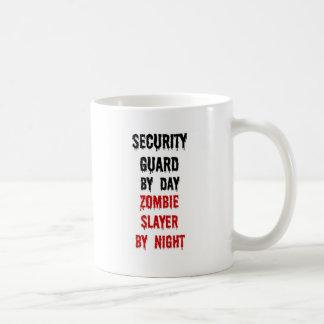 Security Guard Zombie Slayer Coffee Mugs