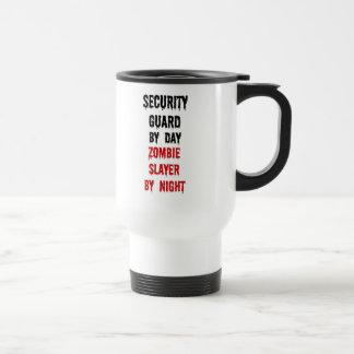 Security Guard Zombie Slayer Travel Mug