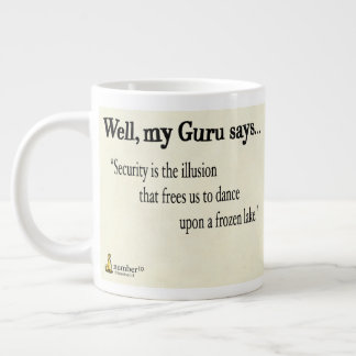 Security is The Illusion Large Coffee Mug