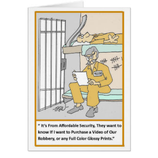 Security Locksmith Funny Cards