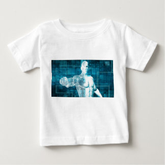 Security Network and Data Protection Baby T-Shirt
