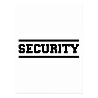 Security Postcard