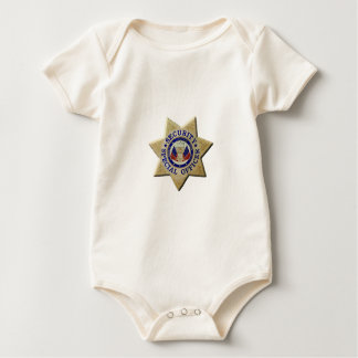 Security Special Officer Baby Bodysuit