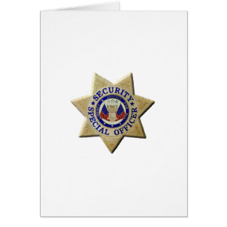 Security Special Officer Card