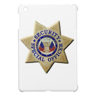 Security Special Officer iPad Mini Covers