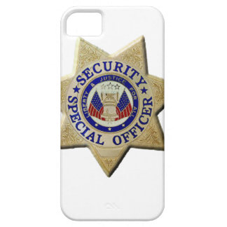 Security Special Officer iPhone 5 Cases