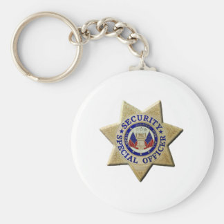 Security Special Officer Key Ring
