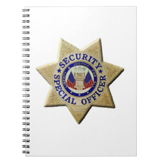 Security Special Officer Notebook