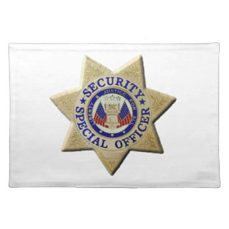 Security Special Officer Placemat
