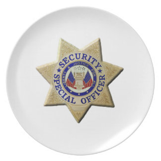 Security Special Officer Plate