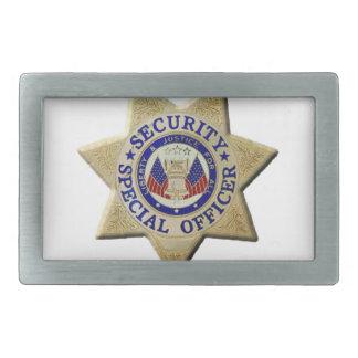 Security Special Officer Rectangular Belt Buckles