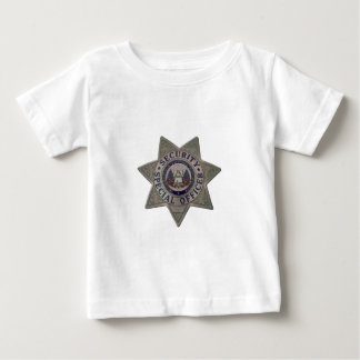 Security Special Officer Silver Baby T-Shirt