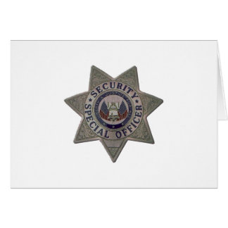 Security Special Officer Silver Card