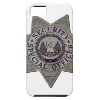 Security Special Officer Silver iPhone 5 Cases