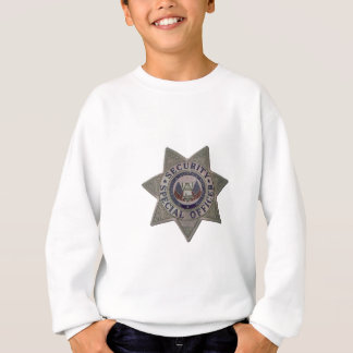Security Special Officer Silver Sweatshirt