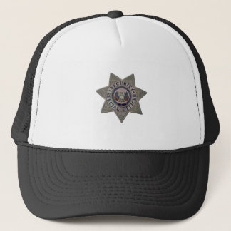 Security Special Officer Silver Trucker Hat
