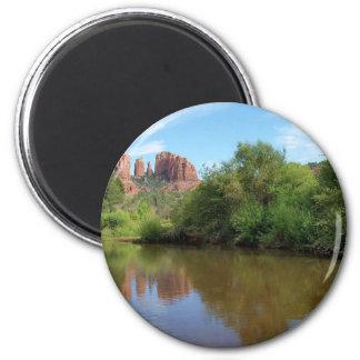 Sedona 6 Cm Round Magnet