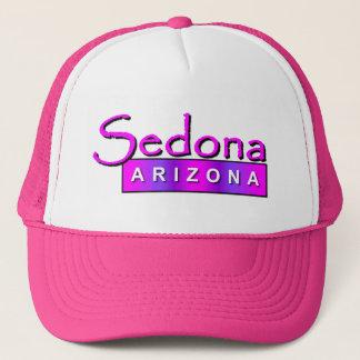 Sedona Arizona in Pink Hat