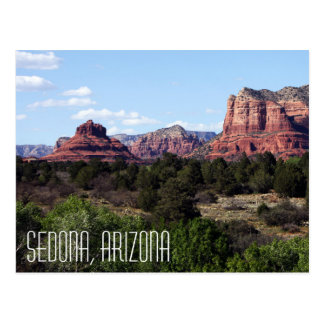 Sedona Arizona Postcard