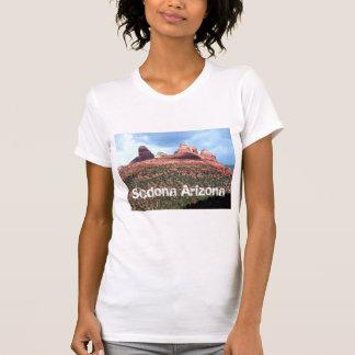 Sedona Arizona Red Cliffs Landmark Womens shirt