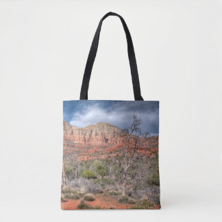 Sedona Arizona red rock landscape Tote Bag