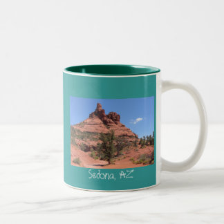 Sedona, AZ Two-Tone Coffee Mug