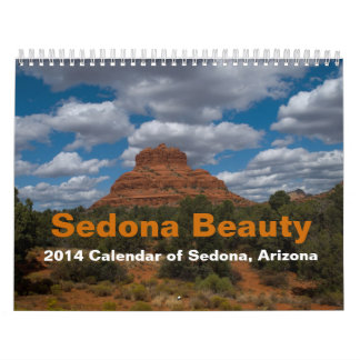 Sedona Beauty 2014 Calendar