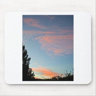 Sedona cloudy skies mousepads