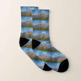 Sedona Landscape Unisex Socks 1