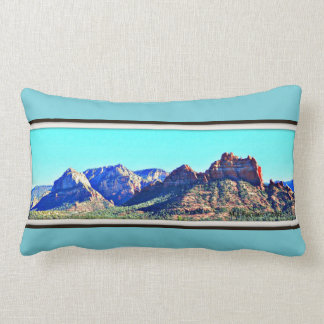 Sedona Mountains Custom Throw Pillow