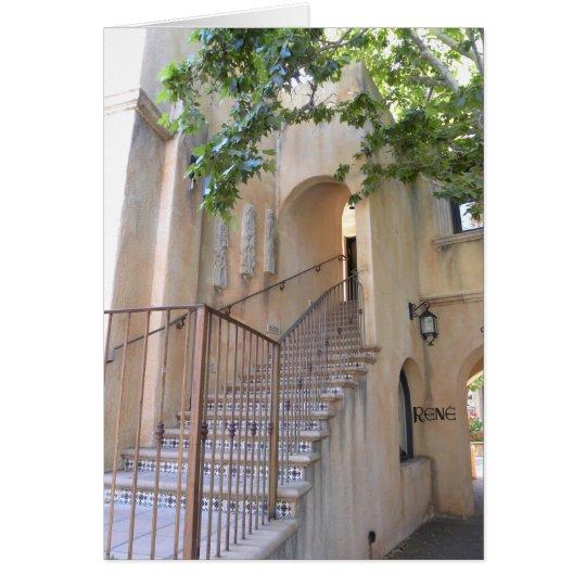 Sedona stairs card