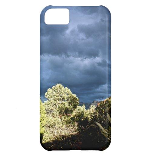 Sedona stormy skies iPhone 5C cover
