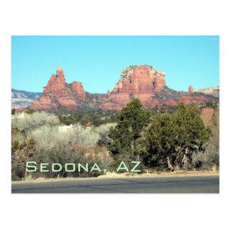 Sedona-View#4, Sedona, AZ Postcard