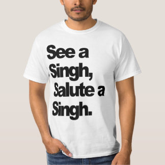 See A Singh T-Shirt (Original) by Humble The P