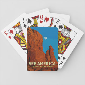 """See America"" Coconino National Forest Card Deck"