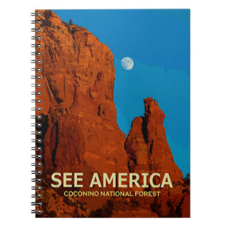 """""""See America"""" Coconino National Forest Notebook"""