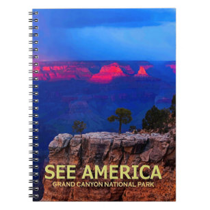 """""""See America"""" Grand Canyon National Park Notebook"""