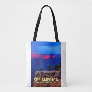 """""""See America"""" Grand Canyon National Park Tote"""