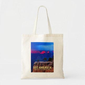 """See America"" Grand Canyon National Park Tote Bag"